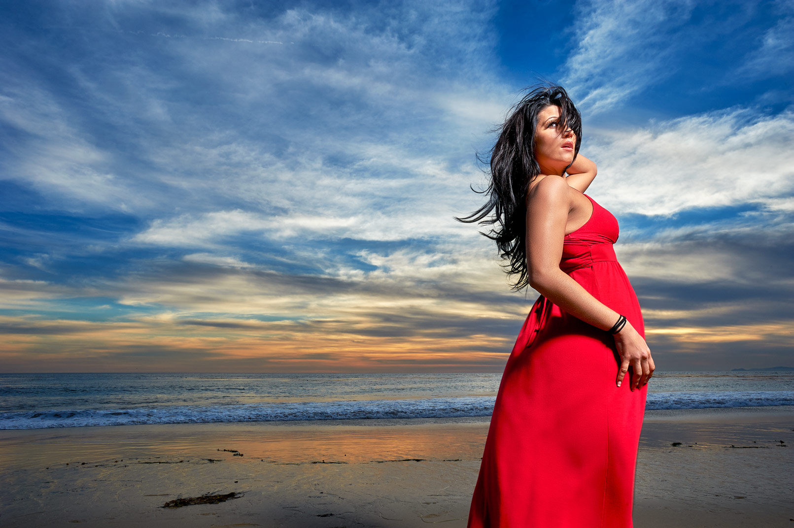 Santa Monica California Beach Shoot Amanda Harris