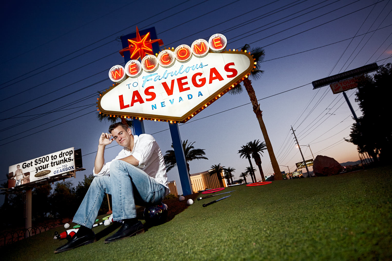 Jeff Civillico Las Vegas Strip 2011