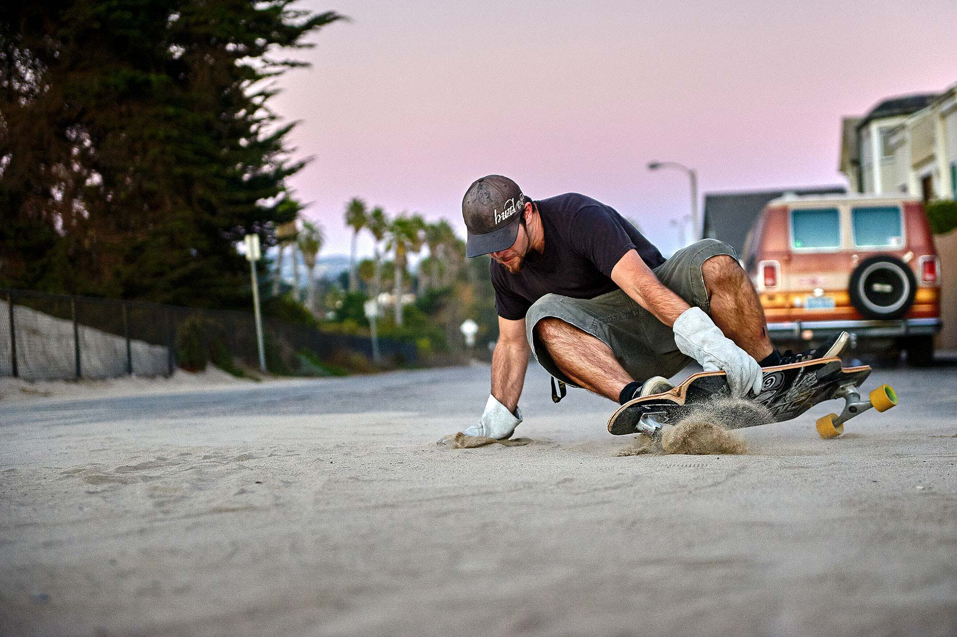 Sand Skating Ventura California